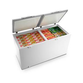 Freezer Electrolux Horizontal Cycle Defrost Branco 477L H500 220V