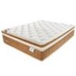 Colchão Casal Plumatex Neo com Pillow Euro Top e Molas Posturetech 40x138x188 Bege / Marrom mostarda