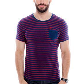 Camiseta Masculina 57996 Penguin Vinho