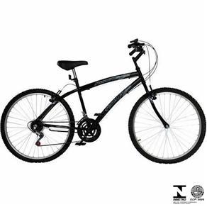 Bicicleta Runner SX New Aro 26 Preto Masculino 5656 Fischer