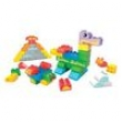 Mega Bloks Junior Builders Mattel Balde Azul 5155032