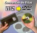 Conversão VHS - DVD