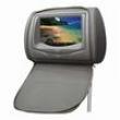 Encosto De Cabeça KX3 com Tela LCD de 7 ´, Entrada USB / SD com Zíper e Função Vídeo Game - Cinza 7879084