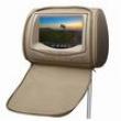 Encosto para Cabeça KX3 DVD, USB, SD Card com Tela LCD 7 ´, Zíper e Função Vídeo Game - Bege 7879089