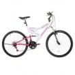 Bicicleta Vivid A26 Branco / Rosa Vv260 - Houston