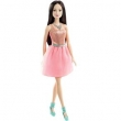 Boneca Barbie Mattel Basic Glitz Vestido Rosa