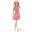 Boneca Barbie Mattel Fashion com Anel Rosa Vestido Rosa