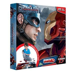 Quebra - Cabeça Toyster Grandão Capitão América 3 - 120 Peças