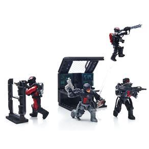 Mega Bloks Mattel Call of Duty Patrulheiros Atlas 8119989