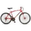 Bicicleta Colli MTB CB500 Aro 26 - 72 Raias com Freios V - Brake Vermelho