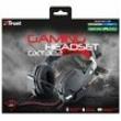 Headset Gamer Trust Dynamic GXT 322 Preto / Vermelho