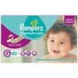Fraldas Pampers Premium Care G / Grande - Hiper 60 unidades