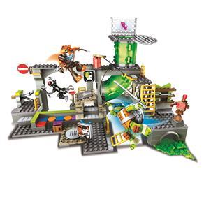 Mega Bloks Mattel As Tartarugas Ninja - Esgotos das Tartarugas 8197562