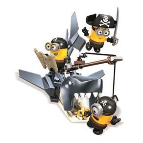 Mega Bloks Mattel Minions - Piratas 8197567