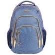 Mochila Escolar G Dermiwil de Costas Planet Girls Animal Print Azul 6069855
