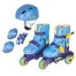 Patins Tri - Line / In - Line Ajustável Aces Fenix 26 - 29 - Azul 837825