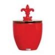 Vaso Pote de Cerâmica 24x16x24 Vermelho 28140 Mazzoti