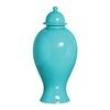 Vaso Pote de Cerâmica 48x22x48 Turquesa 25143 Mazzoti