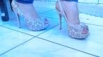 Vendo sandália via Marte número 38 e sapato Lady dutti número 39