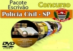 Video Aulas Concurso Escrivão Polícia Civil SP  24 Dvd´s