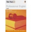 Test Your Professional English: Law - Nick Brieger 1712278 - 9780582468986