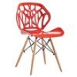 Cadeira Finlandek Sevilha Vermelho