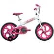 Bicicleta Infantil Aro 16 Caloi Ceci - Branca