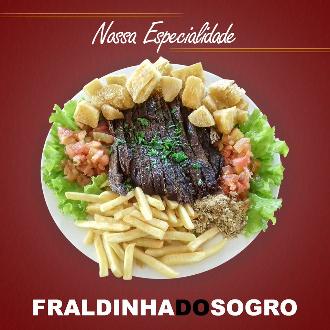 Zareias Empório Mineiro oferece: Fraldinha do Sogro (especialidade da casa)