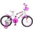 Bicicleta MEGA LADY MONSTER branco / rosa Aro 16 - Mega Bike 9567444