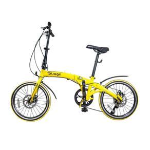 Bike Dobrável Pliage Amarela - Two Dogs