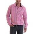 Camisa Masculina 4140302050005 Opera Rock - Xadrez Vermelha 3938962