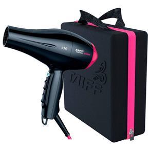 Secador Titanium Taiff 450 Colors Rosa 2100W com 2 Velocidades E Maleta 8230528