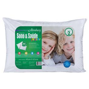 Travesseiro Sono e Saúde Junior Branco - Altenburg 9156635