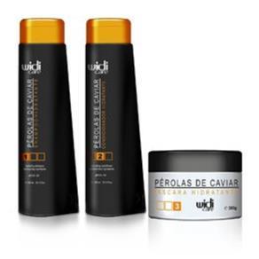 Widi Care Pérolas de Caviar Shampoo, Condicionador & Máscara 300ml 9242179