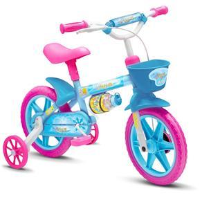 Bicicleta Infantil Feminina Aqua - Nathor 7509695