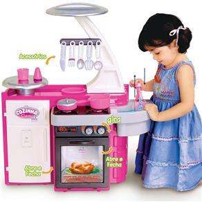 Cozinha Infantil Classic com Fogão Pia Armário 1601 - Cotiplás