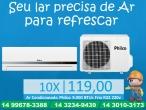 Ar Condicionado Philco 9.000 BTUs Frio R22 220v
