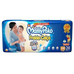 Fralda Mamypoko Calça Mega XXG - 28 unidades