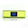 Caixa de Som com display LCD MP3 Radio FM SD Pendrive USB Music Angel Green