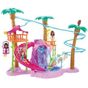 Playset Polly Pocket - Tirolesa na Floresta - Mattel 9690169