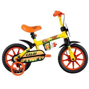 Bicicleta ARO 12 - Power Rex - Amarela - Caloi 10017147
