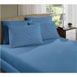 Lençol de Baixo com Elástico Casal Finlandek Serenity Liso em Malha - Azul 8565567