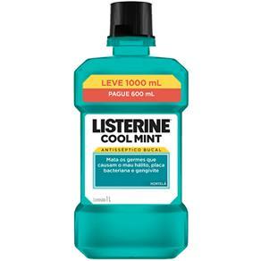 Antisséptico Bucal Listerine Cool Mint - 1000 ml