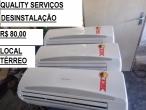 Instalação de AR condicionado Split com GARANTIA*Quality Serviços