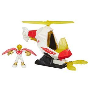 Boneco com Veículo Estilizado - Marvel Super Hero - Marvels Falcom - Playskool 4537331