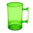 Caneca de Chopp Acrílica Verde Neon para Transfer Laser 7516680