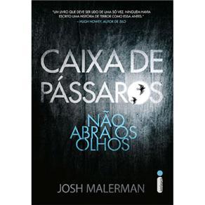 Livros - Caixa de Pássaros: Não Abra os Olhos - Josh Malerman 4149110 - 9788580576528