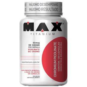 Picolinato de Cromo Max Titanium