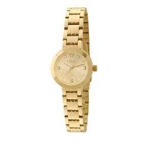 Relógio Feminino Mini Dourado Condor 9665432