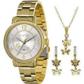 Relógio Lince Analógico Feminino LRG4320L K125 S2KX + Folheado 18K 9198845